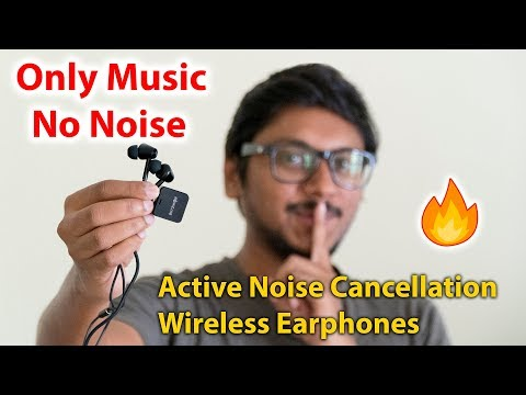 Cheapest ACTIVE NOISE CANCELLATION Wireless Earphones !!