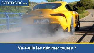 Essai - Toyota GR Supra 2019 : toujours rapide et furieuse ?