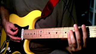 I Love Myself Today - Biff Naked guitar lesson