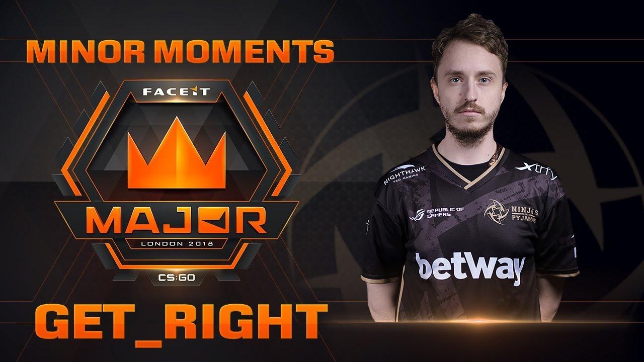 Minor Moments - Get_Right (FACEIT Major: London 2018) Galerisi