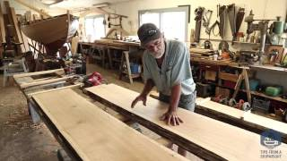 Building the TotalBoat - Ripping and fitting the transom together (Episode 4)