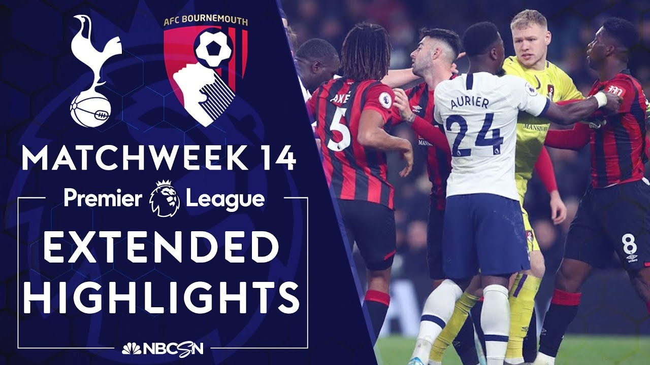 Tottenham Hotspur v. Bournemouth | PREMIER LEAGUE HIGHLIGHTS | 11/30/19 | NBC Sports