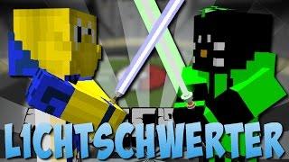Minecraft LICHTSCHWERTER KAMPF (Star Wars) [Deutsch]