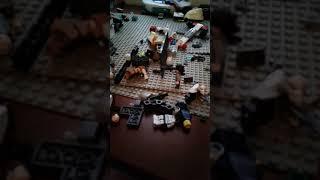 Custom lego fortnite BATTLE ROYALE figures and tools
