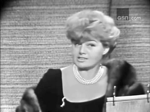 What's My Line? - Shelley Winters; PANEL: Larry Blyden, Phyllis Newman (Aug 7, 1966)
