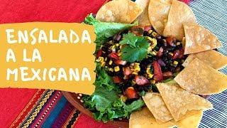 Ensalada A La Mexicana / Mexican Salad (How To)