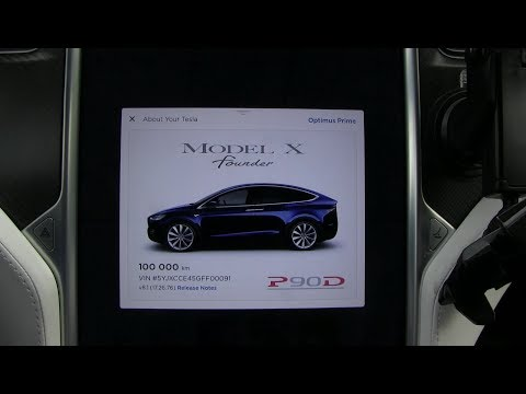 Tesla Model X reaches 100k km/62k mi after 1 year