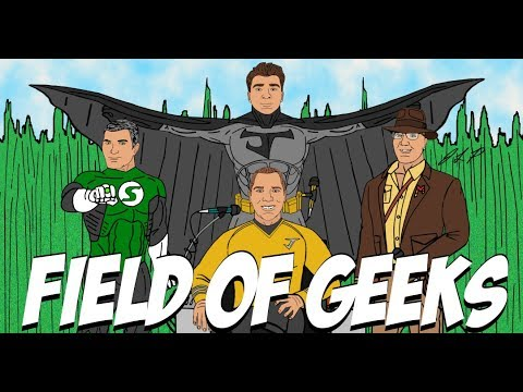 Field of Geeks Podcast: Episode 11–We Can Be Heroes!