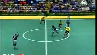 argentina vs colombia futsal 2011 parte 1   YouTube
