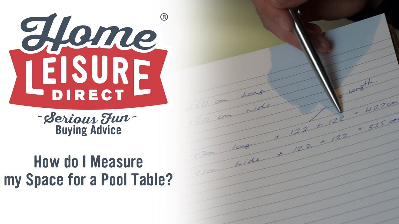 How Do I Measure My Space For A Pool Table Pool Table Buying - How to measure a pool table