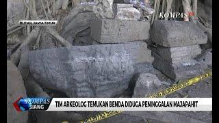 Tim Arkeolog Temukan Benda Diduga Peninggalan Majapahit di Blitar