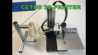 Checking out the Cetus 3D printer  and all the possibilities for model building.