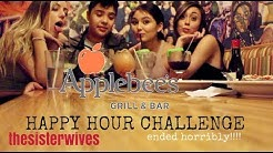 We Tried Applebees Happy Hour Challenge *ended horribly*