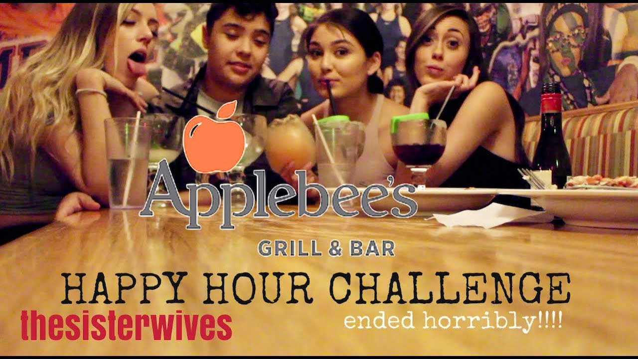 We Tried Applebees Happy Hour Challenge ended horribly   YouTube
