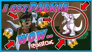 WOW..! I GOT A PALKIA IN POKEMON BRICK BRONZE/ ROBLOX