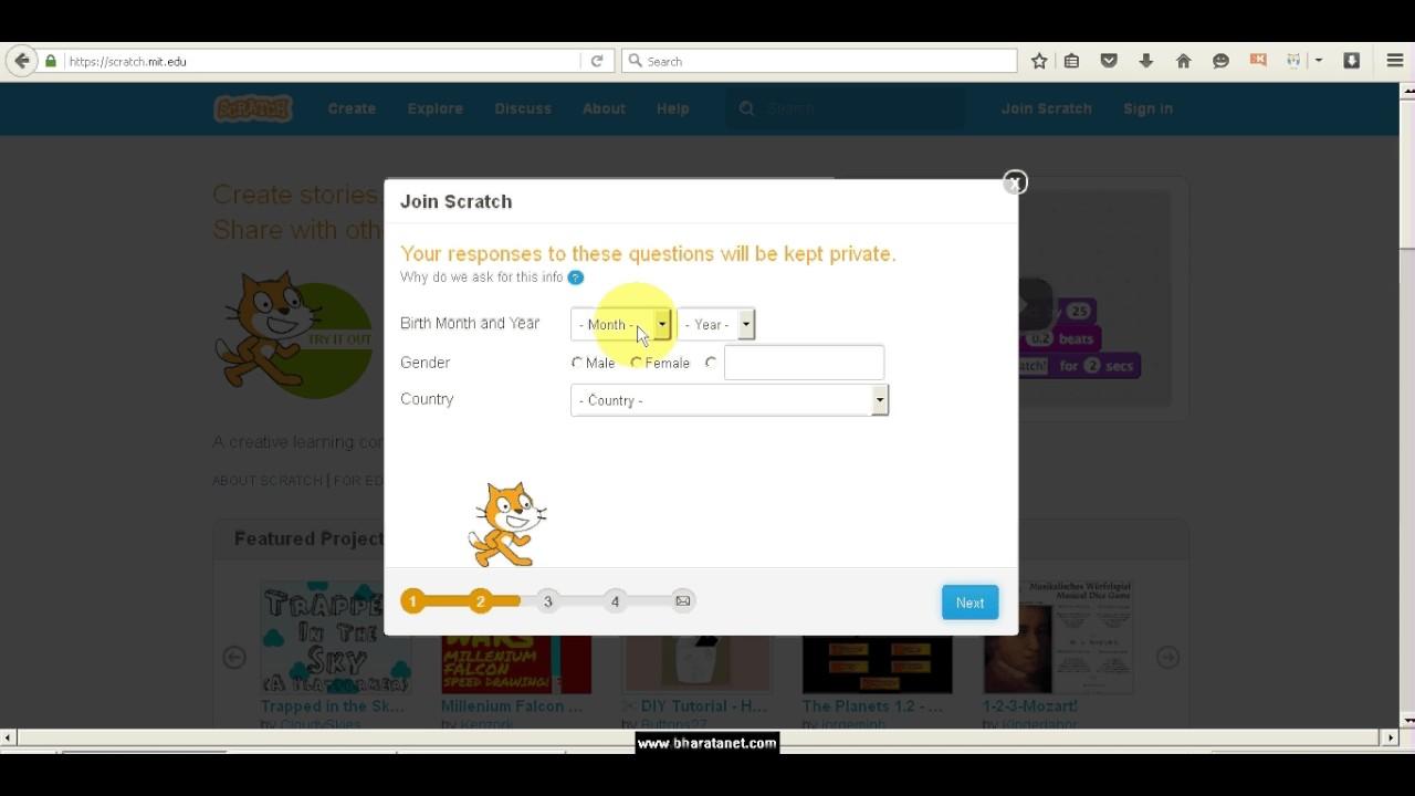 Tutorial cara membuat game online sendiri dengan scratch online sederhana - Membuat Account - tS ...