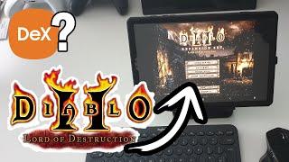 Play Diablo 2 on Samsung DeX |…