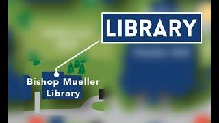 Tour of Briar Cliff University's Bishop Mueller Library