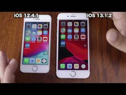 IOS 12.4.1with IPhone SE Vs IOS 13.1.2 With IPhone 6s Speed Test | ISuperTech