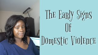 Signs / Risks of  Domestic Violence Occurring