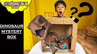 Dinosaur MYSTERY BOX - Skyheart Toys trex surprise kids triceratops