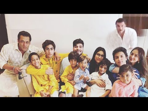 INSIDE Video: Salman Khan's EID Party 2018 With Family At House Galaxy Apartments In Bandra