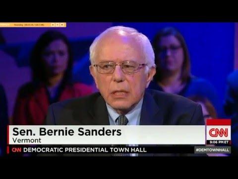 Bernie Sanders CNN Town Hall Highlights