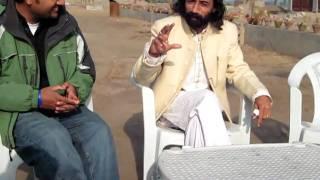 Baba Ghulam Hussain Nadeem with Asim