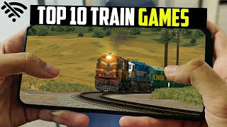 Top 10 Indian Train Simulator Games For Android 2021  Train Game For Android   New Game screenshot 1