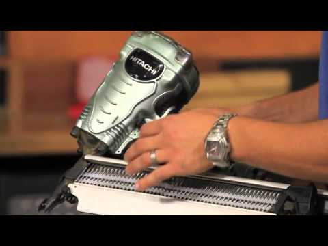 Hitachi NR90AES 3 12 Inch Full Head Framing Strip Nailer Real User Review & How To