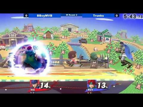 [06/16/18|Sm4sh] WR2: BBoyMVB (Ike) VS Trunks (Roy)