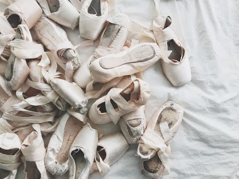My Updated Pointe Shoe Collection 2017/Pointe Shoe Brand Reviews!!! | Audrey Ann