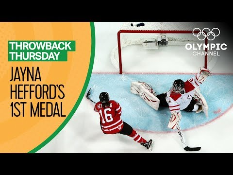Jayna Hefford's First Olympic Medal Opens the Door for Greatness   Throwback Thursday