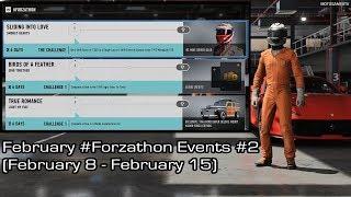 Forza Motorsport 7 - February #Forzathon Events #2 (February 8 - February 15)