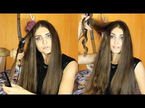 #Утюжок для волос GAMA Starlight IHT Platinium+Laser Ion+ КЕЙС. Как накрутить волосы утюжком? Juliy@