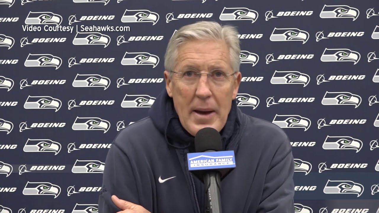 Pete Carroll on Rams Defense 2020-12-24