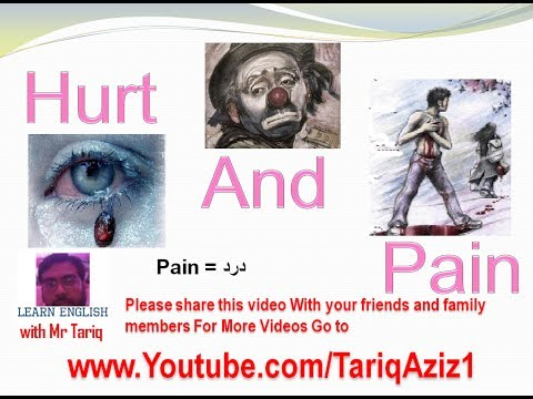 Hurt and Pain~ sad poem In English With Urdu and hindi Translation