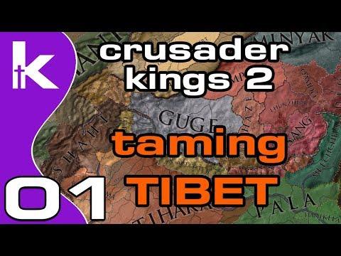 Crusader Kings 2 Jade Dragon Ep 1   Taming Tibet   CK2 Tibet