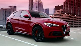 2018 ALFA ROMEO STELVIO QUADRIFOGLIO FUN-TO-DRIVE VEHICLE AND MOST FUN SUV
