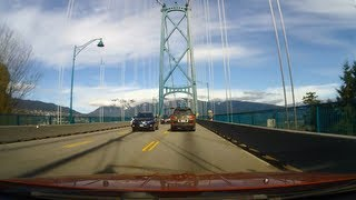 A Drive Over the Lions Gate Bridge