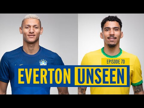 EVERTON UNSEEN #70: INSIDE BRAZIL, ENGLAND + FRANCE CAMPS AND TRAINING AT USM FINCH FARM!