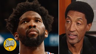 Joel Embiid's scoreless game says more about the Raptors than Embiid - Scottie Pippen | The Jump