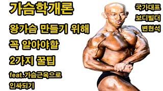 가슴근육을 키우는 확실한 2가지방법(가슴근육으로 인싸되…