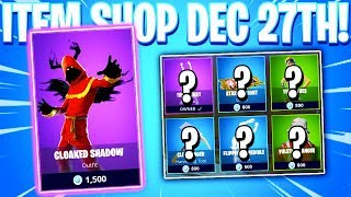 Fortnite Item Shop! WOAH CRAZY SKIN! Daily & Featured Items! (December 27th 2018)