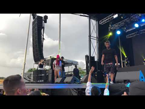 Juice WRLD - Legends (Live at the Lit Up Music Festival At RC Cola Plant in Wynwood on 7/28/2018)
