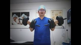 GYNAE PENANG: Light Exercise At Clinic #MCO Day7