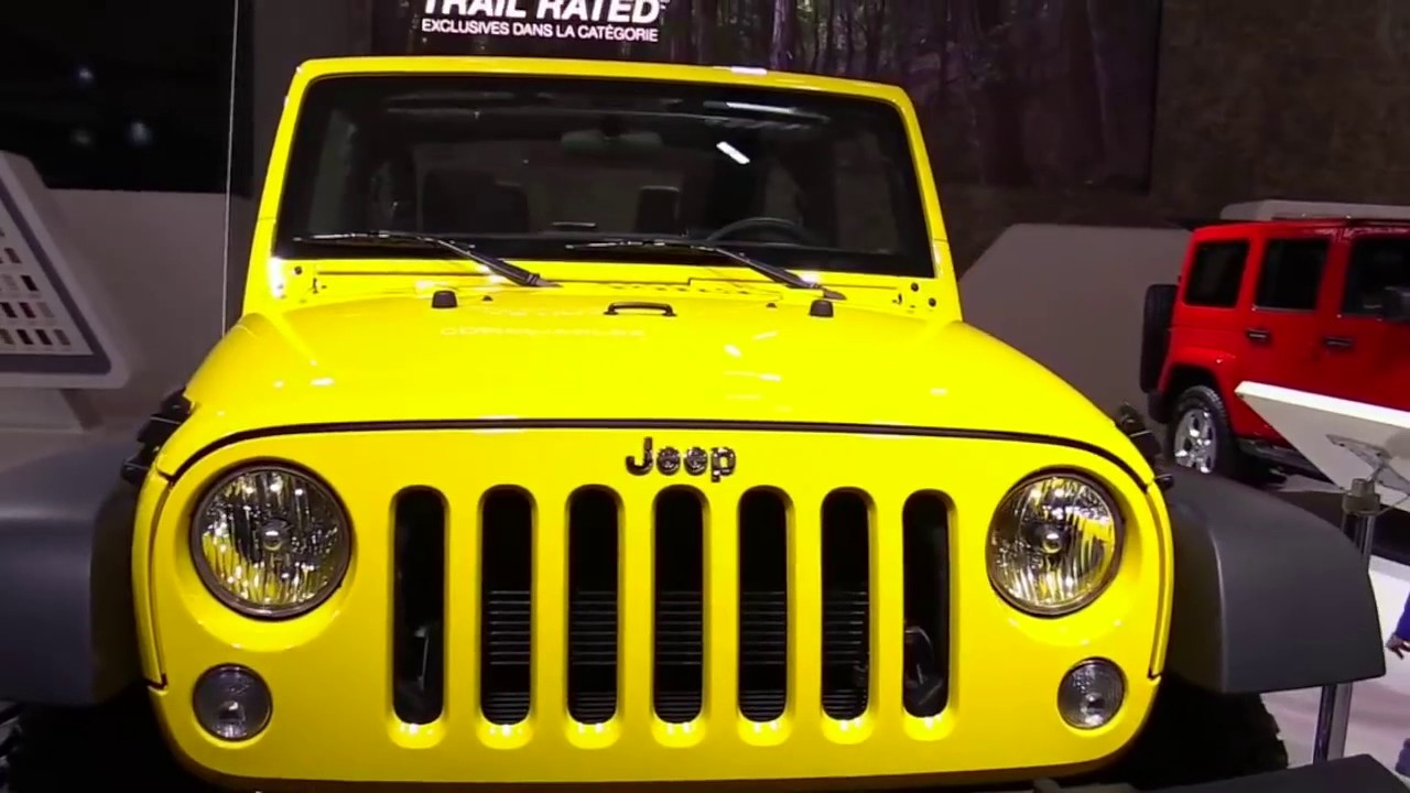 2018 jeep yellow. beautiful jeep 2018 jeep wrangler sport s design limited special first impression  lookaround review throughout jeep yellow