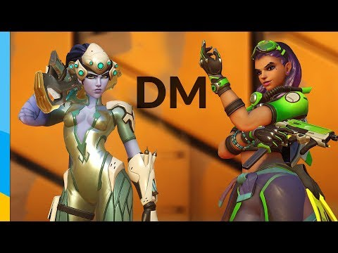 Didn't expect Sombra to be difficult in DM | Overwatch Deathmatch