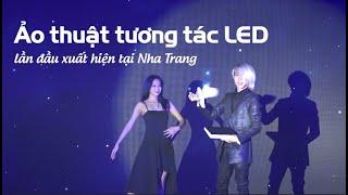 Ảo thuật gia J diễn tương tác LED tại Magic Night Event Mobifone