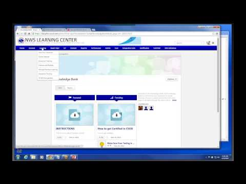 Overview of the Cornerstone LMS - April 22, 2015